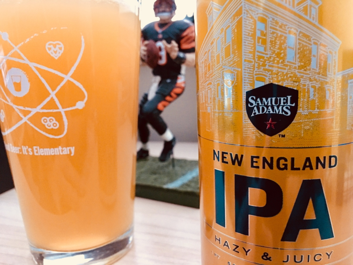 Beer Review: Sam Adams New England IPA